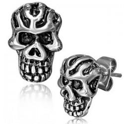 Clous gothiques 40 - Crâne