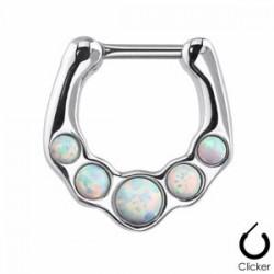 Piercing septum 16 - Opalite aurora