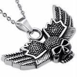Pendentif gothique 50 - Crâne avec ailes