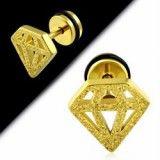 Faux-écarteur acier 190 - Satin jaune diamant