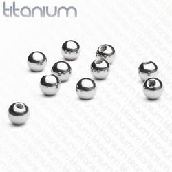 Boule titane 1,6mm