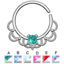 Piercing micro-bcr 153 - Vintage opale