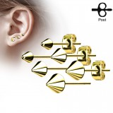 Clous en acier 61 - Pointe gold-ip