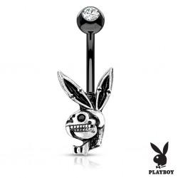 Piercing nombril Playboy 19 - Lapin gothique