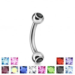 Piercing arcade 04 - Double strass
