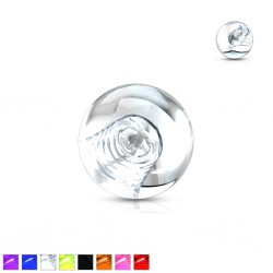 Boule UV unicolore 1,2mm