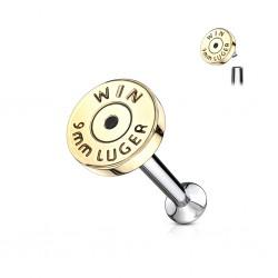 Piercing micro-labret 67 - Bullet
