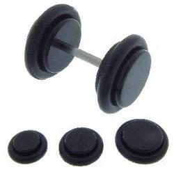 Faux-écarteur acry 04 - Noir