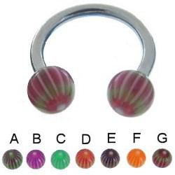 Piercing micro-circulaire 76 - UV rayons
