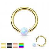 Piercing micro-bcr 129 - PVD opale