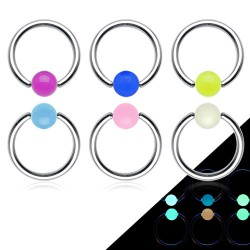 Piercing anneau 1,6mm 05 - Fluorescent