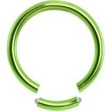 Piercing anneau 1,6mm 11 - Anneau brisé PVD