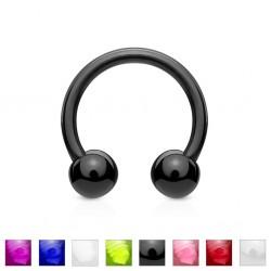 Piercing micro-circulaire 19 - UV flexible boules