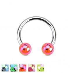 Piercing micro-circulaire 110 - Luisant tacheté