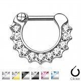 Piercing septum 05 - Onze strass