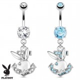 Piercing nombril Playboy 07 - Lapin et ancre