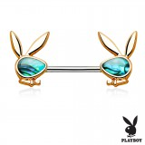 Piercing téton playboy 9 - Abalone