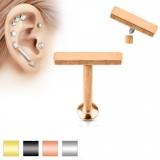 Piercing micro-labret 98 - Ligne plate B