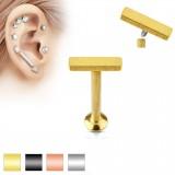 Piercing micro-labret 97 - Ligne plate A