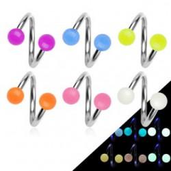 Piercing spirale 17 - Fluorescent