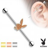 Piercing industriel 140 - Playboy satin