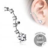 Piercing oreille original 19 - étoile C