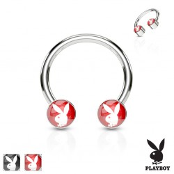 Piercing fer à cheval 31 - Logo Playboy