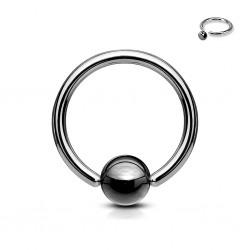 Piercing micro-bcr 18 - Hématite