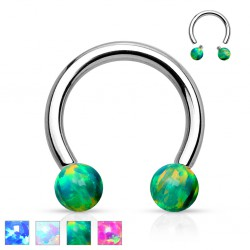 Piercing micro-circulaire 112 - Opale