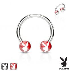 Piercing micro-circulaire 53 - Logo Playboy