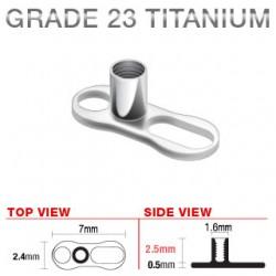 Base microdermal titane C