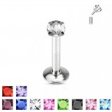 Piercing micro-labret 57 - Cristal rond