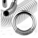 Piercing anneau 1,6mm 29 - Ressort
