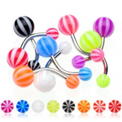 Piercing nombril UV 06 - Beach-Ball