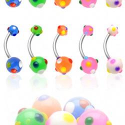 Piercing nombril UV 71 - Bonbons