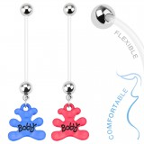 Piercing nombril grossesse 52 - Ourson