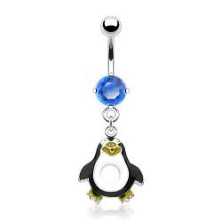 Piercing nombril pingouin ventre creux (40)