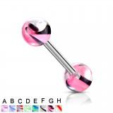 Piercing de langue UV 47 - Agate