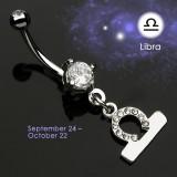 Piercing nombril zodiaque 08 - Balance