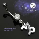 Piercing nombril zodiaque 10 - Capricorne