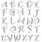 Piercing nombril lettre strass transparents