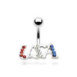 Piercing nombril USA (D152)