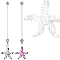 Piercing nombril grossesse 41 - étoile de mer