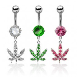 Piercing nombril cannabis 07 - Multistrass A