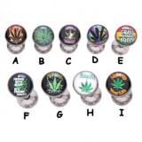 Piercing langue logos série cannabis