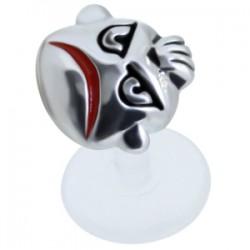 Piercing micro-labret PTFE 74 - Pas content