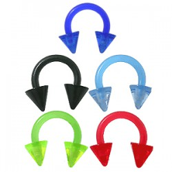 Piercing micro-circulaire 20 - UV flexible pointes