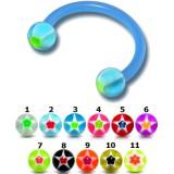 Piercing micro-circulaire 105 - Flexible étoile