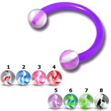 Piercing micro-circulaire 106 - Flexible agate