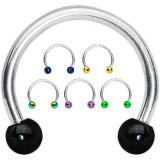 Piercing micro-circulaire 85 - Boules PVD